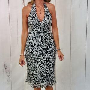 BCBG MaxAzria Dress Animal Print Leopard Sundress
